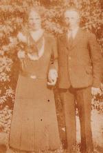 Monstrup - Søren og Petra gift i 1934