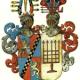 Store Restrup - Våbenskjold Rosenkrantz Levetzau