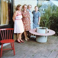 Tommerup - De fire søstre i halvfjerdserne