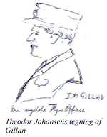 Flying Officer J. M. Gillan