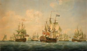 Nysted - Stranding af fjendtlige skibe