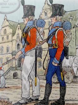 Bandholm - Infanterister 1809
