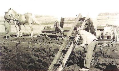 Øster Bjerregrav - Tørvegravning