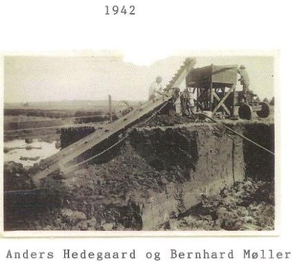 Øster Bjerregrav - Tørvemaskine