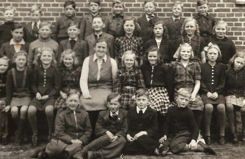 Store Restrup - Bette klasse 1947